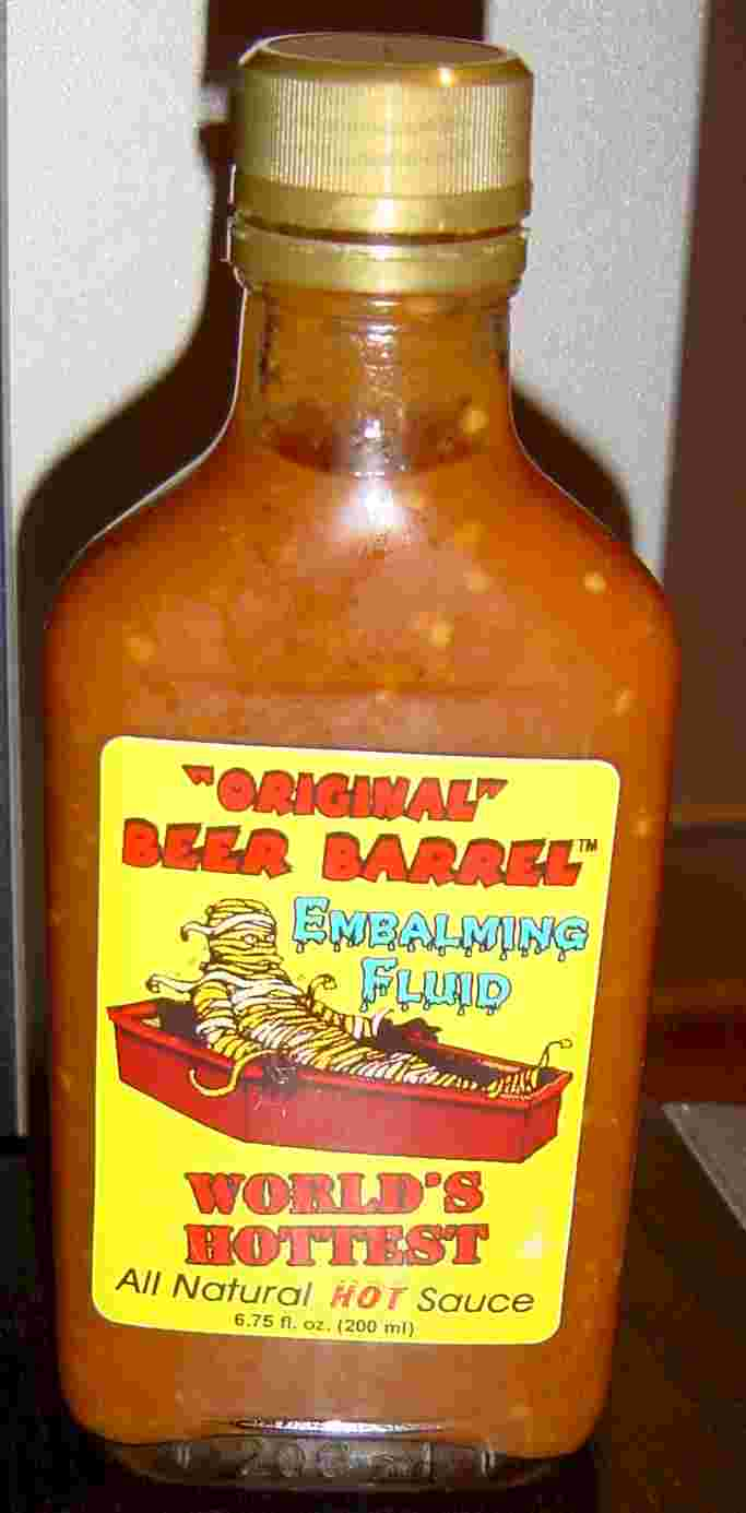 Hottest Sauces In The World Scoville Unit Sauce